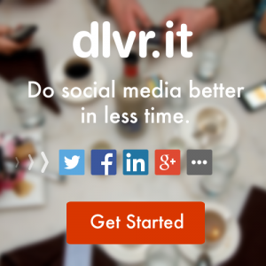 Dlvr.it's business website social sharing buttons