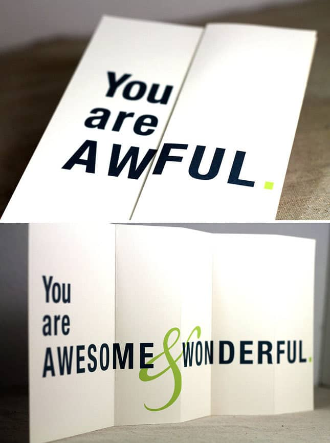 Boss's Day Gift Ideas: You are awful greeting card