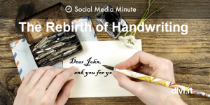 Social Media is Killing Handwriting and Why that's Bad for Business